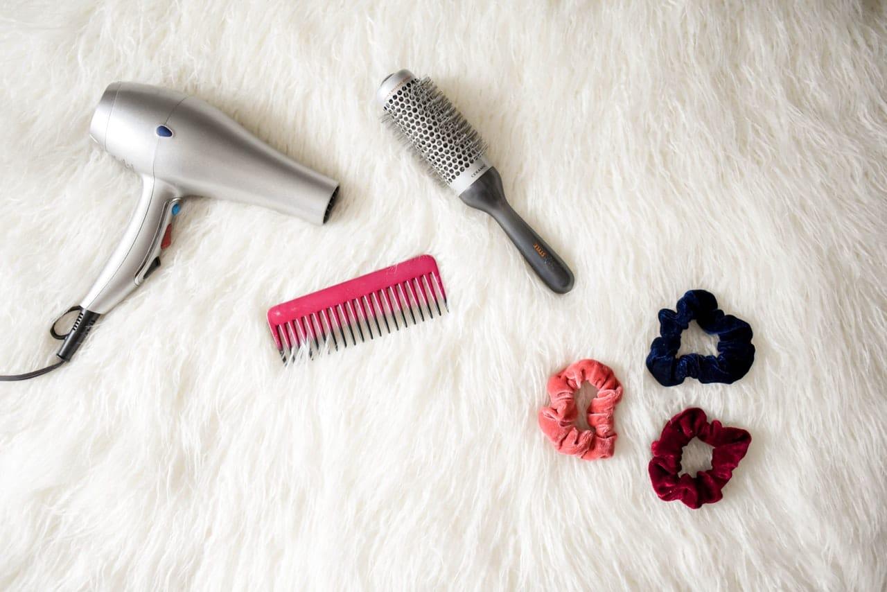zmywanie farby do włosów